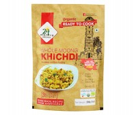 24 Mantra Organic Ready To Cook Kichdi (Whole Moong) 200gm