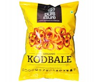 Pure and Sure Organic Kodbale/Ring Murukku 200gm