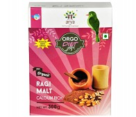 Arya Farm Orgo Diet Ragi Malt 300gm