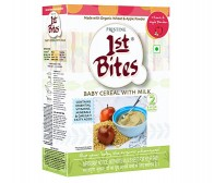 Pristine 1st Bites Organic baby Cereal (Wheat & Apple) 300gm