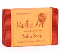 Rustic Art Organic Baby Soap 100gm