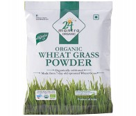 24 Mantra Organic Wheat Grass Powder 100gm